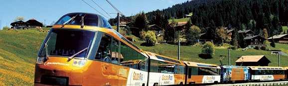 Bahn-Erlebnisreisen weltweit - GOLDEN PASS TRAIN