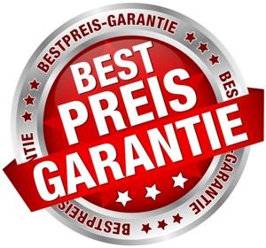 Wir garantieren den besten Preis.