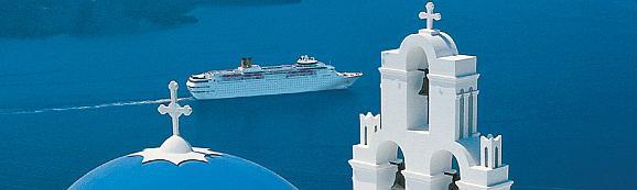 Costa Kreuzfahrt Mittelmeer Griechenland mit Santorini