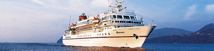 Expeditions-Kreuzfahrten mit MS Bremen von Hapag Lloyd