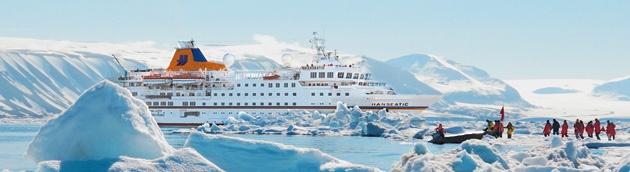 Expeditions-Kreuzfahrten mit MS Hanseatic von Hapag Lloyd