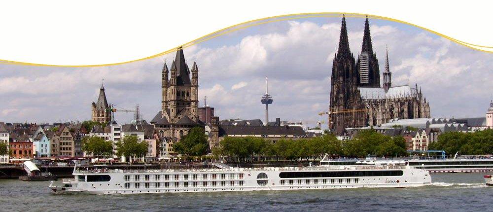 A-ROSA AQUA auf dem Rhein in Köln