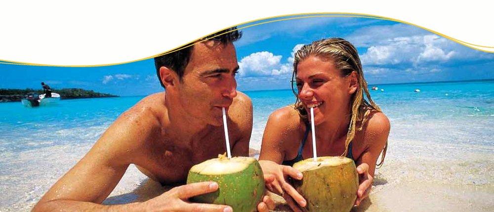 Ich wünsche mir Sonne, Strand und Cocktails
