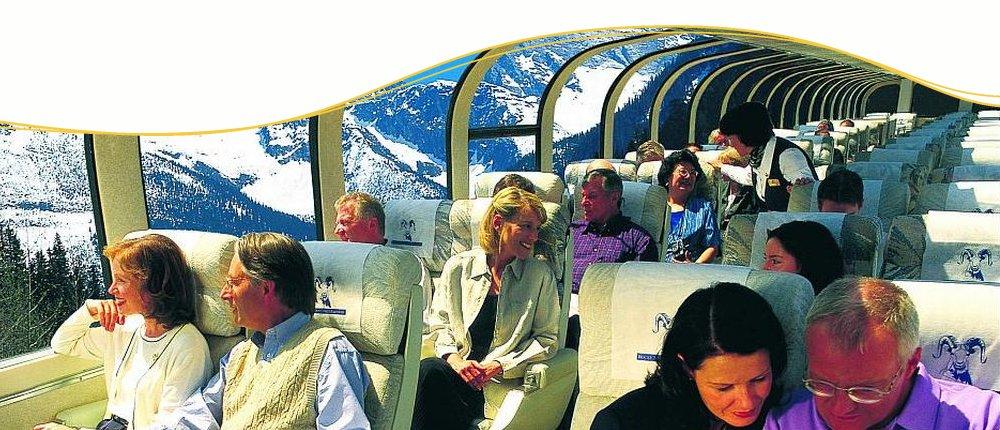 Goldener Ahorn Panoramawagen, Kanada