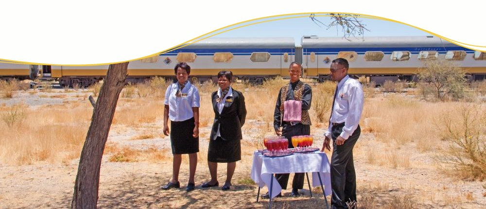 Picknick am Desert Express, Namibia