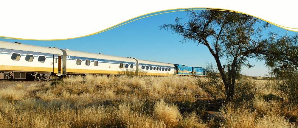 Im Desert Epress durch Namibia