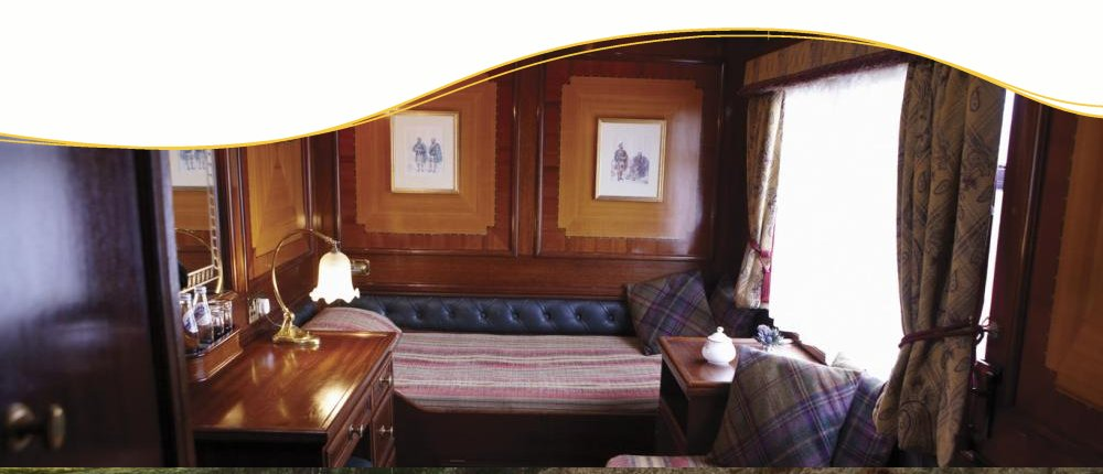 Single Cabin im Royal Scotsman