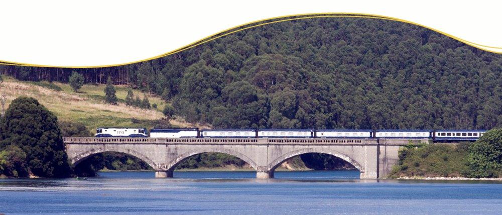 Zugreisen im El Transcantabrico