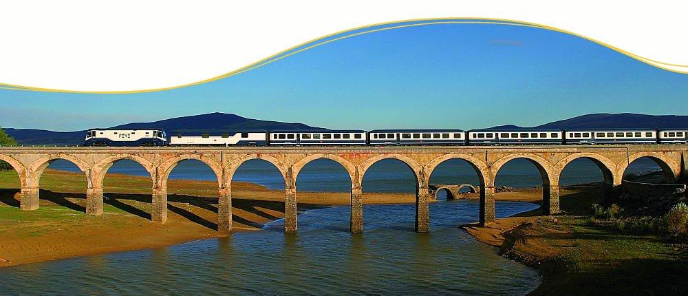 Zugreisen im El Transcantabrico oder Al Andaluz durch Spanien