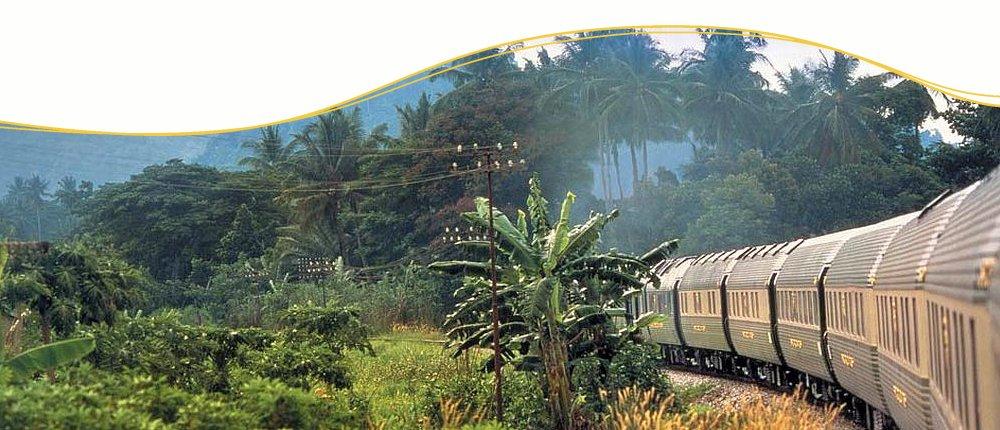 Bahn-Erlebnisreisen im Eastern & Oriental Express