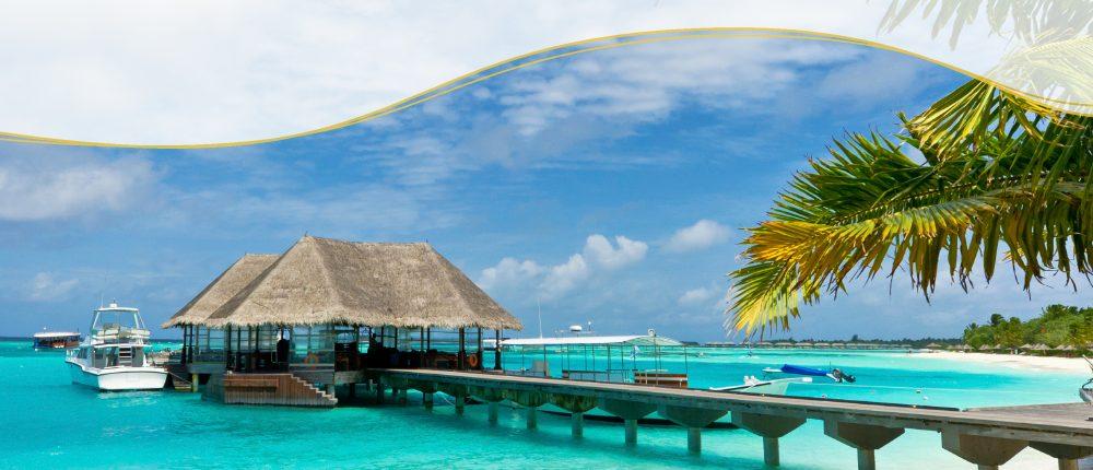 Luxushotel auf den Malediven