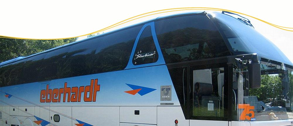 Komfortable Busreisen mit Eberhardt Travel