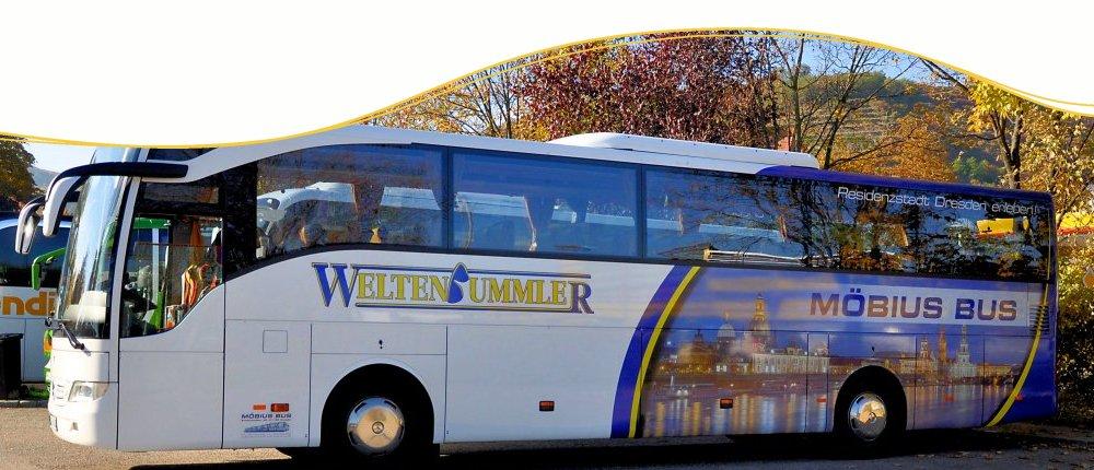 Tipp: günstige Busreisen mit Blue and White