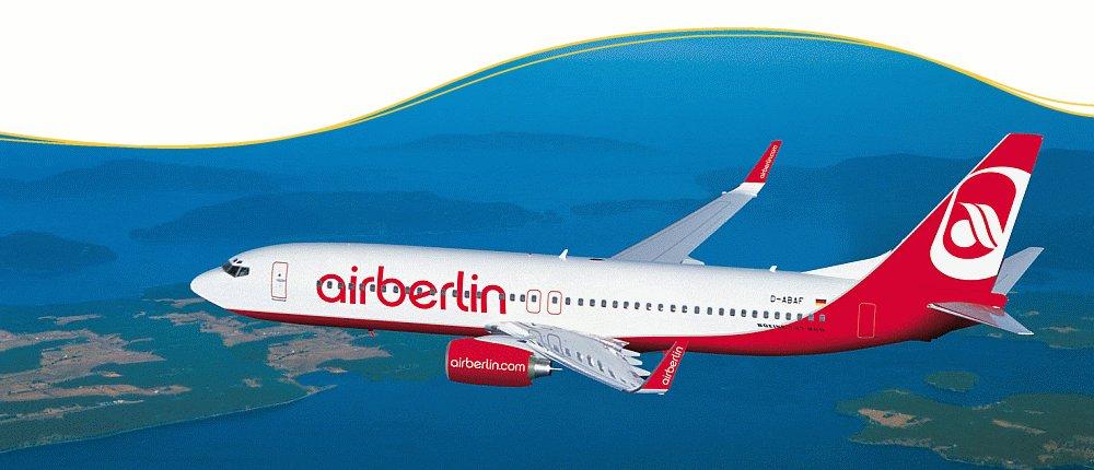 Mit Air Berlin nach Spanien