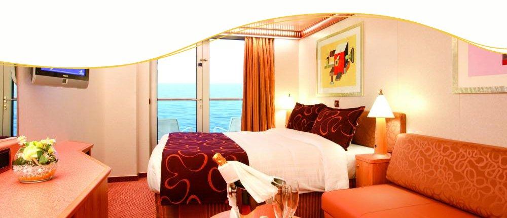 Balkonkabine bei Costa Kreuzfahrten