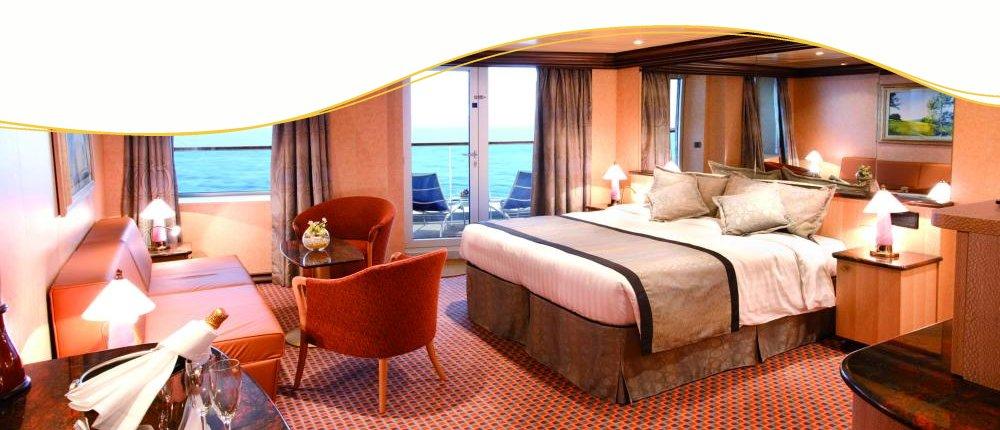 Panorama-Suite bei Costa Kreuzfahrten