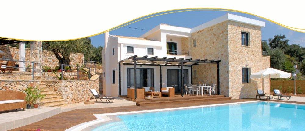 Poolvilla auf Korfu