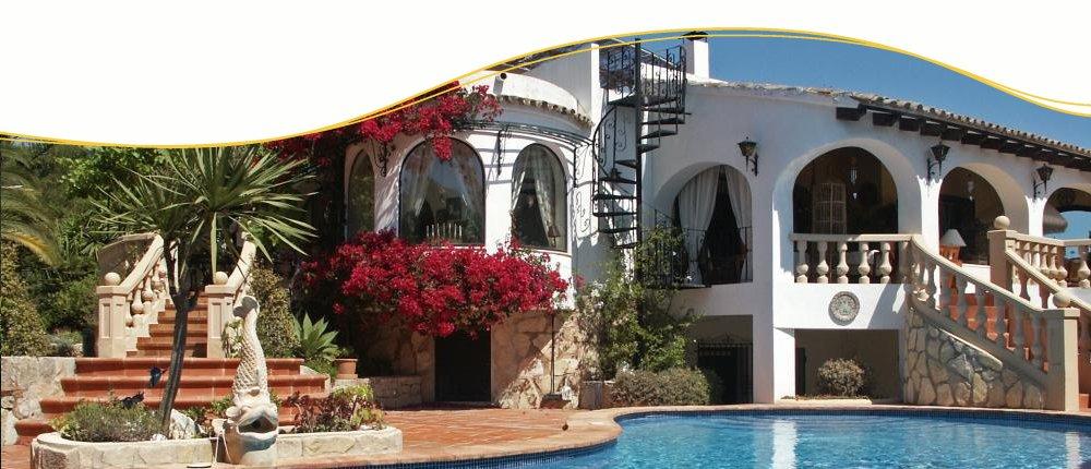 Ferienhaus an der Costa Blanca, Spanien