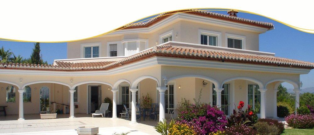 Poolvilla auf den Kanarischen Inseln