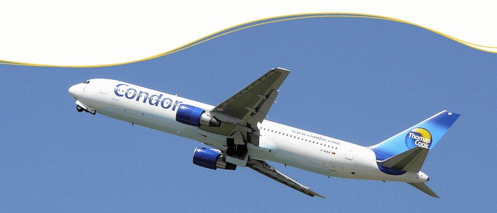 Condor Flüge buchen zu günstigen tagesaktuellen Preisen