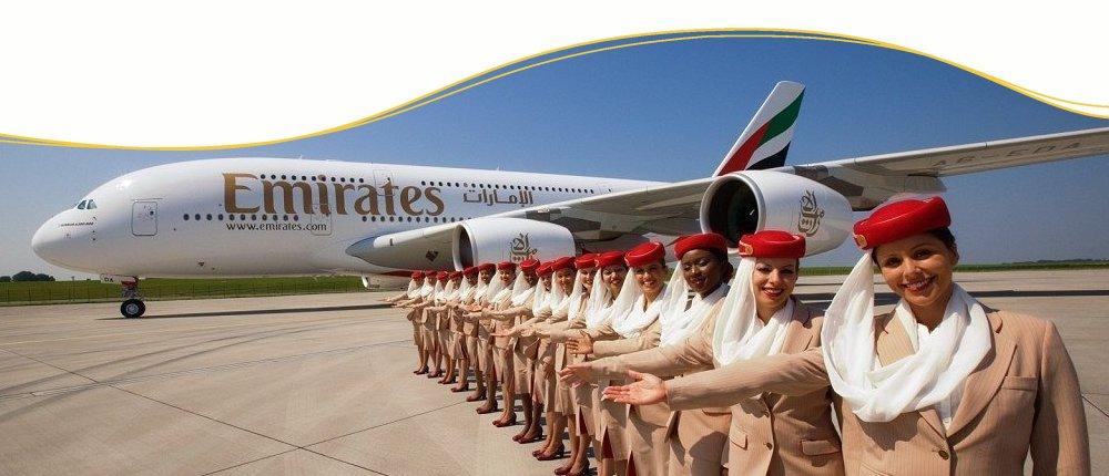 Emirates nach Dubai