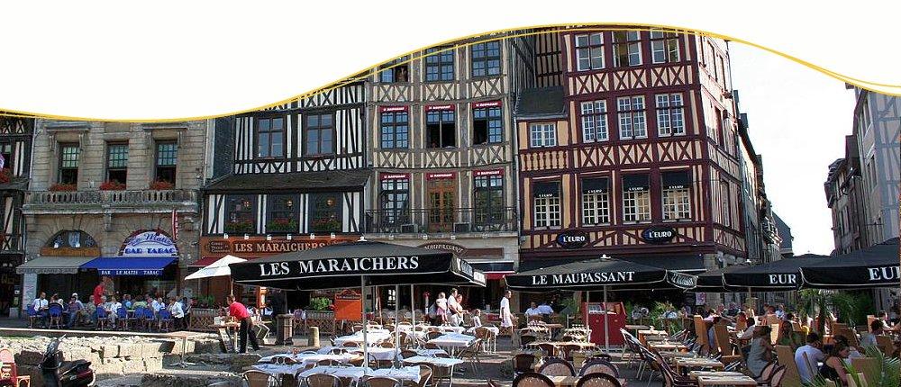 Rouen an der Seine