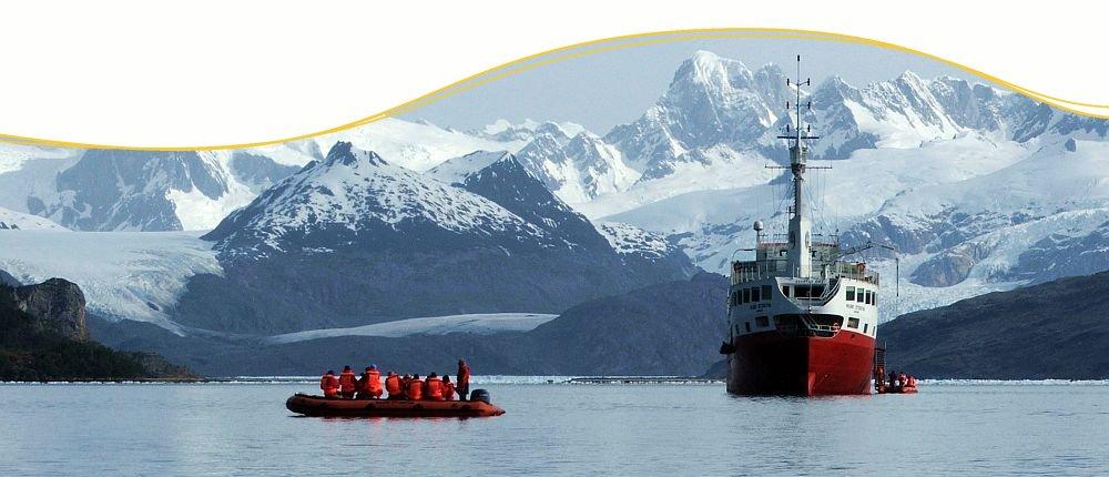 Antarktis Expeditions-Kreuzfahrten mit Ikarus Tours