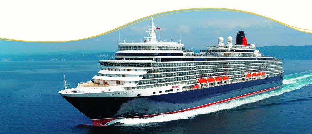 Cunard Line Luxuskreuzfahrten mit Queen Elizabeth