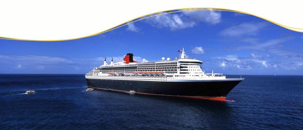 Cunard Line Luxuskreuzfahrten mit Queen Mary 2