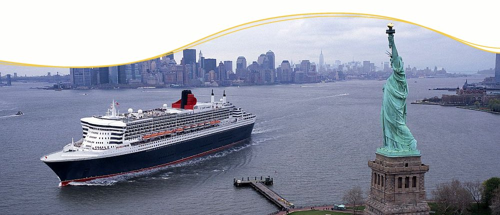 Cunard Line Luxuskreuzfahrt ab New York