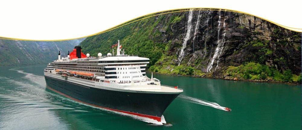 Norwegen erleben mit Queen Mary 2