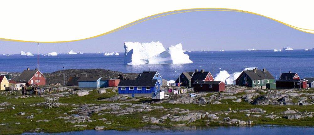 Discobay auf Grönland