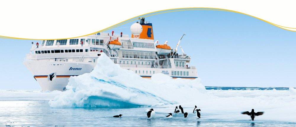 MS Bremen auf Expeditionskreuzfahrt