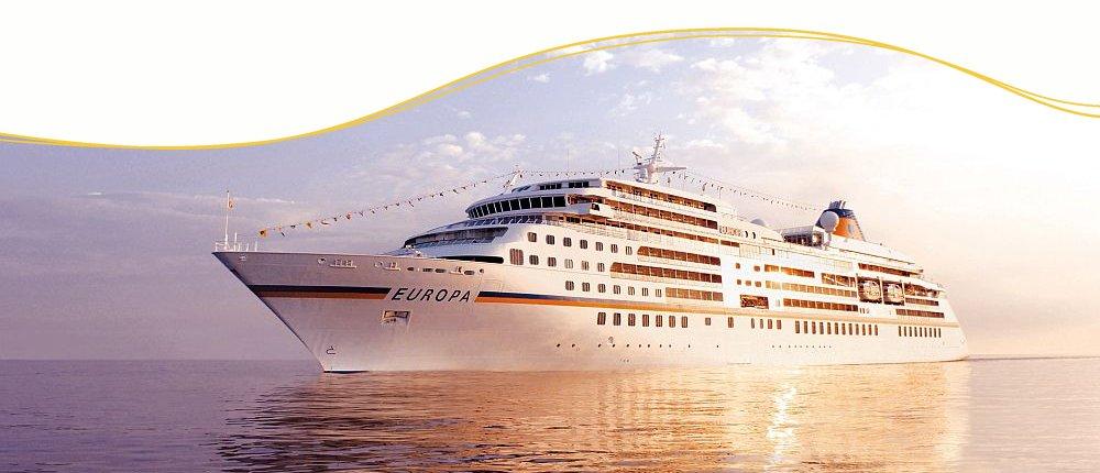 Luxuskreuzfahrten mit MS Europa von Hapag Lloyd