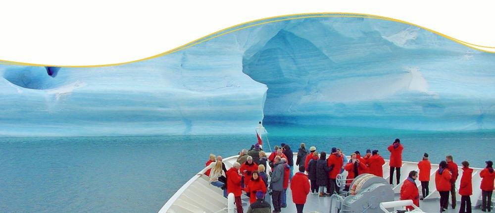 MS Hanseatic in der Antarktis