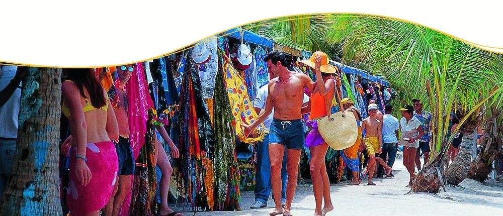 Badestrand & Shopping erwarten Sie in der Karibik