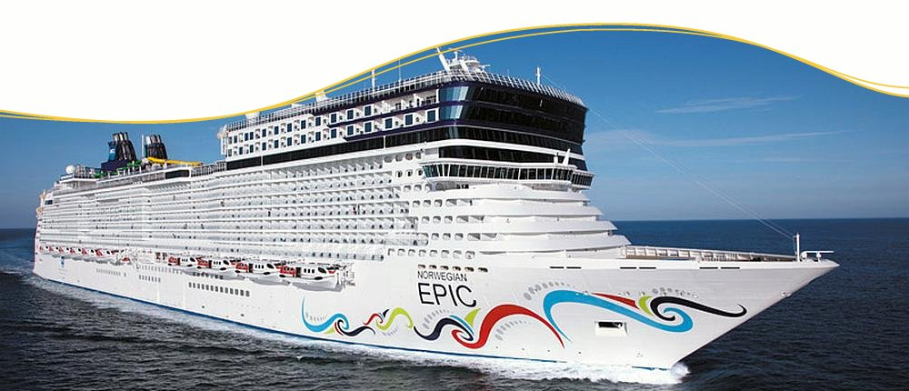 NCL Epic Clubschiff