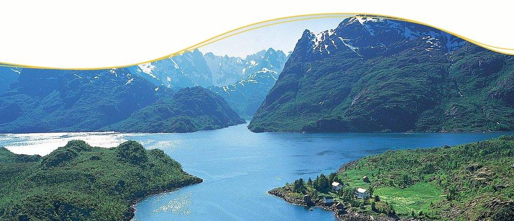 Norwegische Fjorde erleben