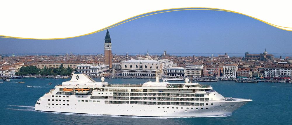 Silversea Wind in Venedig