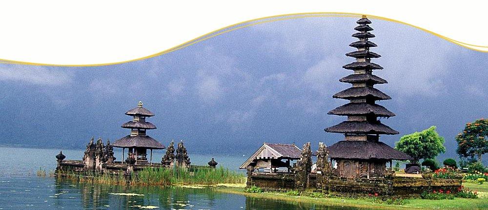 Bedugul auf der Trauminsel Bali, Indonesien
