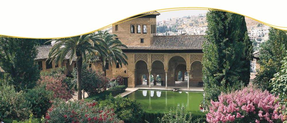 Alhambra in Grenada, Spanien
