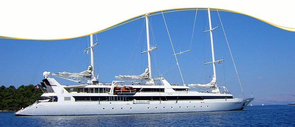 Karibik Segelkreuzfahrten mit Le Ponant