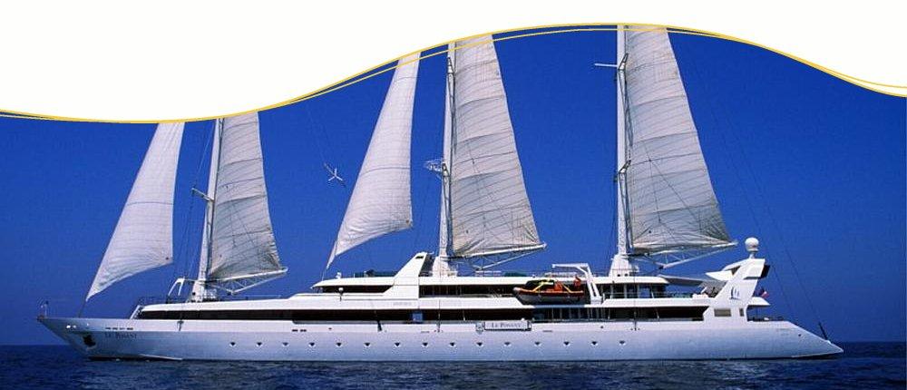 Mittelmeer Segelkreuzfahrten mit Le Ponant