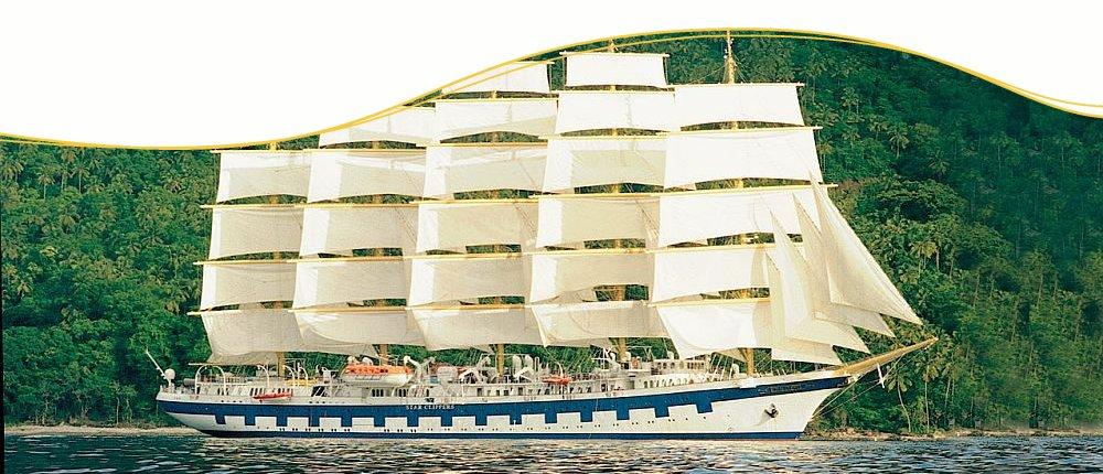 Costa Rica Segelkreuzfahrten mit Star Clippers erleben