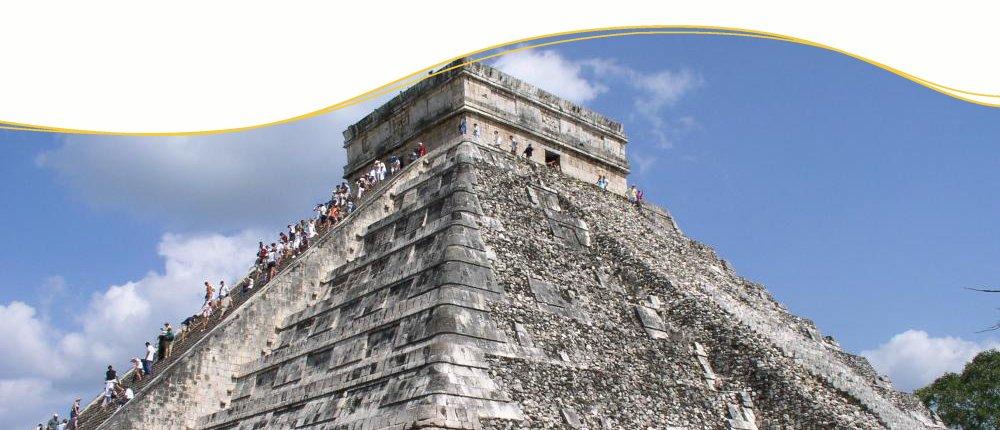 Chichen Itza in Yucatan, Mexiko