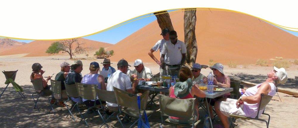 Namibia mit Ikarus Tours