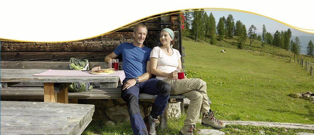 Wanderurlaub in Österreich von Hütte zu Hütte