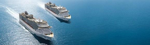 MSC Kreuzfahrten weltweit