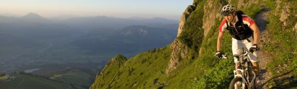 Mountainbike Tour in den Alpen