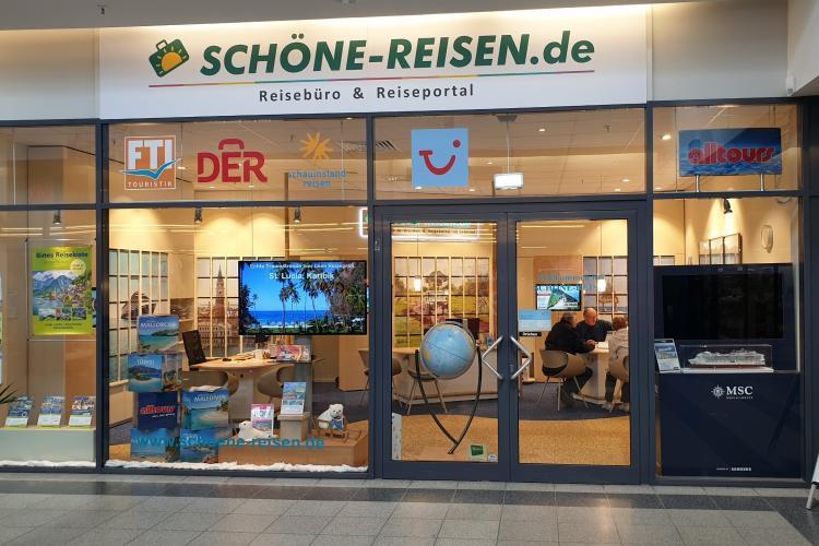 Reisebüro SCHÖNE-REISEN in Dresden im ProhlisZentrum